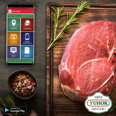 Sveže meso dostupno za online poručivanje